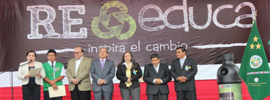 Se instaló planta de tratamiento de agua por el Día del Ambiente en el I.E. Amauta