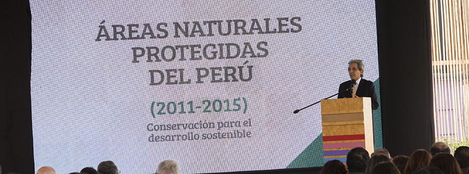 """MINAM presentó el 4° Informe Sectorial Ambiente: """"Las Áreas Naturales Protegidas del Perú: conservación para el desarrollo sostenible"""""""