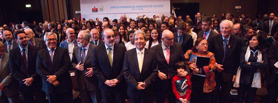 Ministro Pulgar-Vidal destacó camino de acción, compromiso y sinergia en evento de cierre de gestión 2011 – 2016