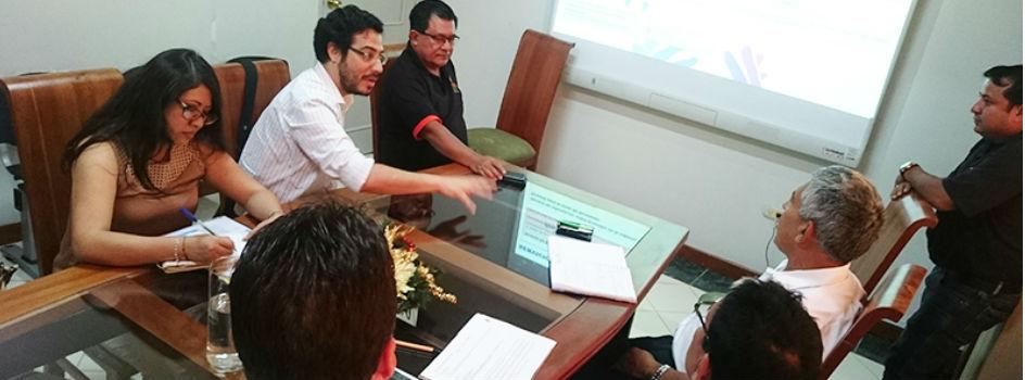 Programa Bosques y Gobierno Regional de San Martín coordinan estrategias en beneficio de la Conservación