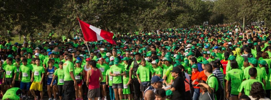 """Más de 3 500 personas participaron en la carrera """"Perú Natural 5K"""" por las áreas naturales protegidas"""