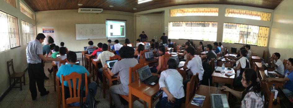 Región Loreto y el MINAM unen esfuerzos para capacitar a estudiantes universitarios en temas de Ordenamiento Territorial