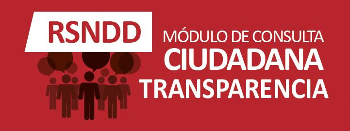 Módulo de Consulta Ciudadana Transparencia