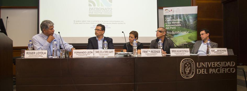 Foro sobre Servicios Ecosistémicos revela importancia de alianza entre Estado y sector privado en favor de los recursos naturales