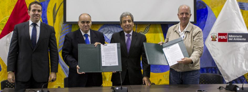 Ministerio del Ambiente y Gobierno Regional de Ica suscriben Convenio que fortalecerá Sistema Regional de Gestión Ambiental