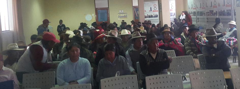 MINAM continúa promoviendo el fortalecimiento de los mecanismos de participación ciudadana en Espinar