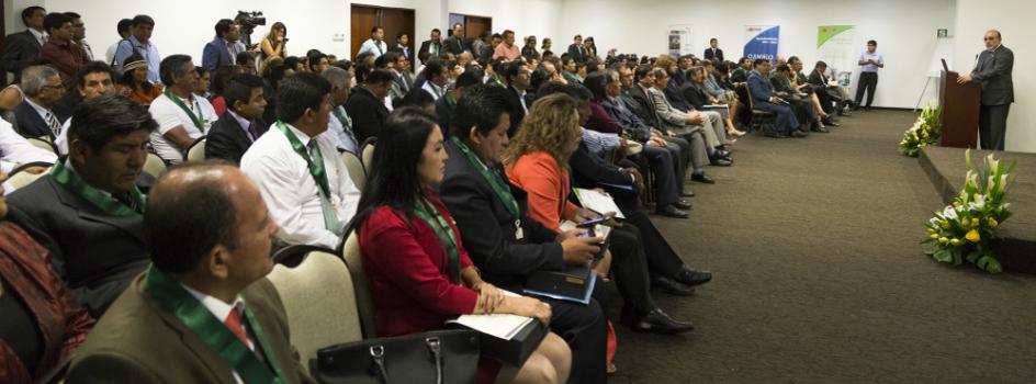 103 municipalidades de todo el Perú fueron reconocidas por el MINAM por su Gestión Ambiental Local Sostenible (GALS)