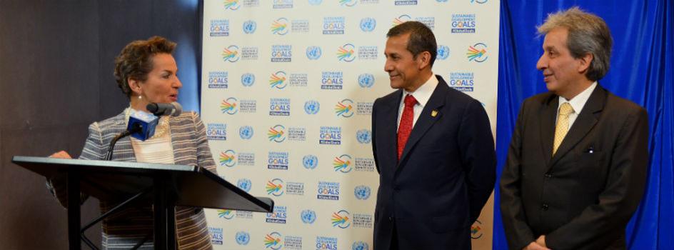 Perú anuncia su Contribución Prevista y Determinada a nivel Nacional (iNDC) en la Asamblea General de las Naciones Unidas de Nueva York