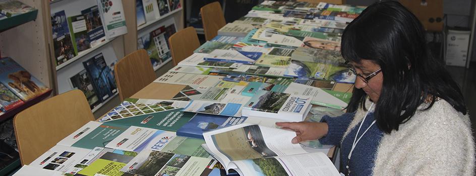 Universidad Nacional Alcides Carrión de Cerro de Pasco recibió donación de publicaciones del MINAM