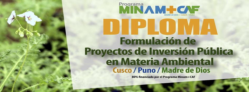 Programa Minam+CAF amplía plazo para postulación a Diplomas en Formulación de Proyectos Ambientales
