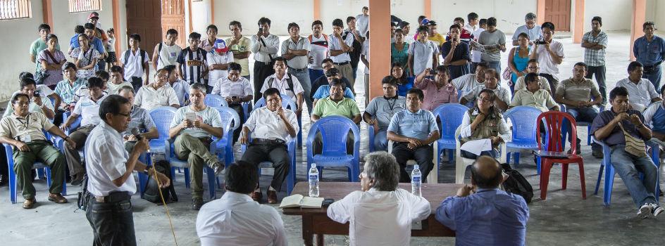 Ministro del Ambiente se reúne con autoridades locales y población de Chiriaco y mostrará resultados de monitoreo de OEFA en abril