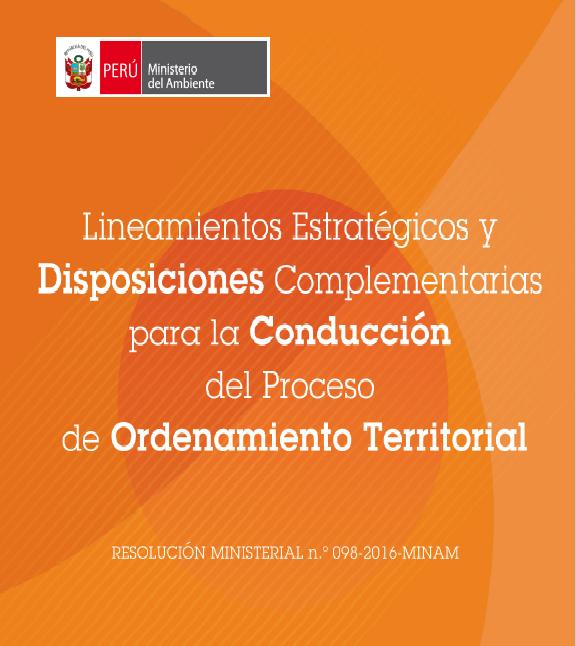 Lineamientos estrategicos y Disposiciones...