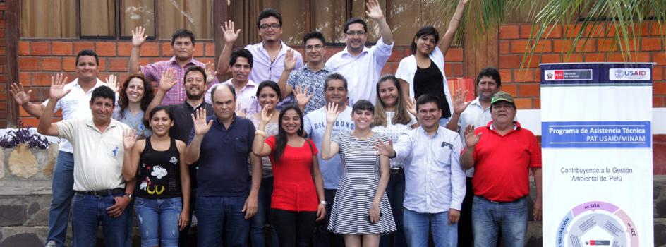 Culmina curso de capacitación en Valoración del Patrimonio Natural en la región San Martín