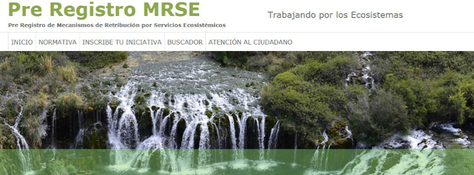 MINAM lanza el Pre Registro de Mecanismos de Retribución por Servicios Ecosistémicos