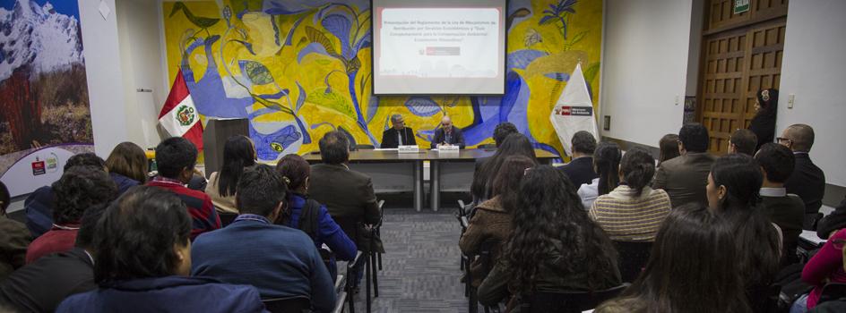 MINAM presenta la Guía Complementaria para la Compensación Ambiental: Ecosistemas Altoandinos