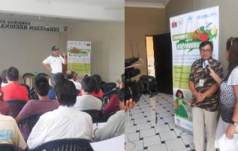 Ministerio del ambiente promueve el uso de semillas de for Oficina gestion ica
