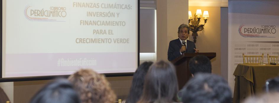 Manuel Pulgar-Vidal expone sobre el futuro de las finanzas climáticas y el crecimiento verde