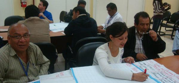 Se realiz taller de conflictos socioambientales con oefa for Oficina gestion ica