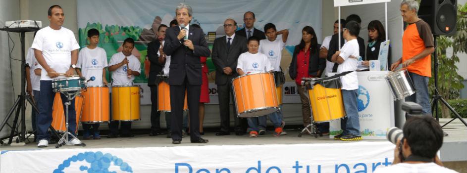 Relanzamos la campaña Pon de tu Parte para que más peruanos se comprometan con el medio ambiente