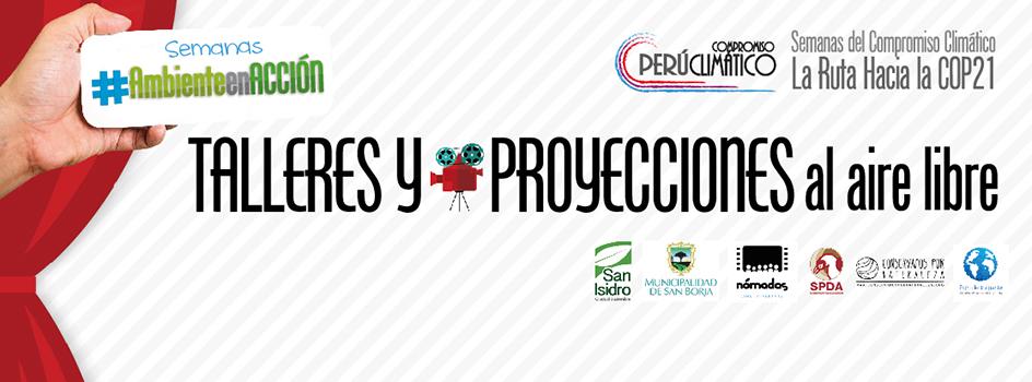 Hoy y mañana participa del taller exhibición de papel reciclado y disfruta de proyecciones ambientales al aire libre