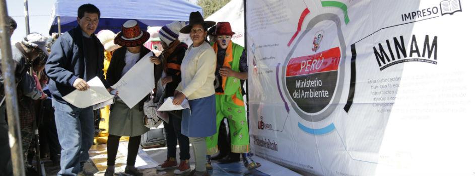 Acción Ciudadana en Espinar permite que seis sectores del Ejecutivo se acerquen a población cusqueña