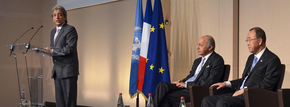 Ministro Pulgar-Vidal participa en Francia de la Semana de Embajadores