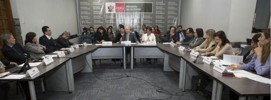 Comisión Multisectorial presentó las Contribuciones Nacionales actualizadas mediante consulta pública