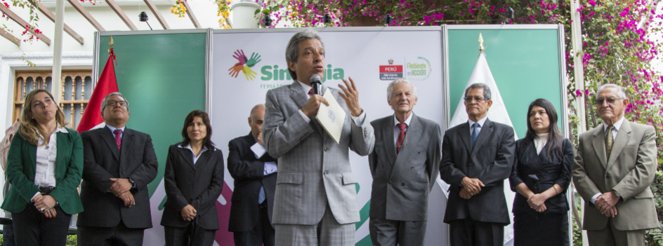 Hoy inició la Feria SINERGÍA 2015: visítala y conoce más de la gestión ambiental en el Perú