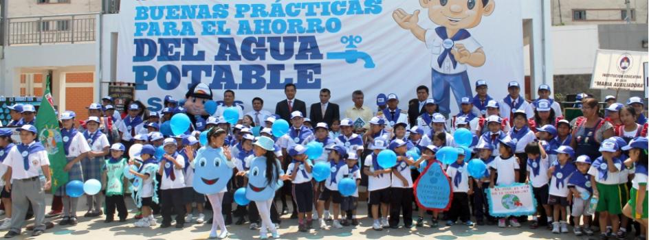 Más de 160 mil estudiantes participaron en el II Concurso Nacional Escolar de Buenas Prácticas para Ahorrar el Agua Potable