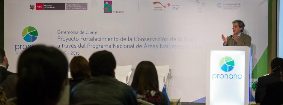 Proyecto PRONANP concluye con valiosos logros y oportunidades a favor del desarrollo que promueve la gestión Integrada de la conservación