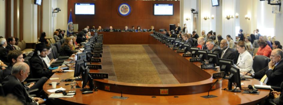 Organización de los Estados Americanos (OEA) invoca, en sesión extraordinaria, a alcanzar un ambicioso acuerdo climático global en la COP21