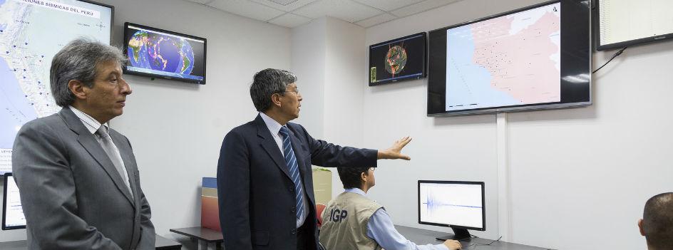 Nuevo Centro de Monitoreo Sísmico del IGP tardará apenas 3 minutos en realizar reportes a autoridades nacionales