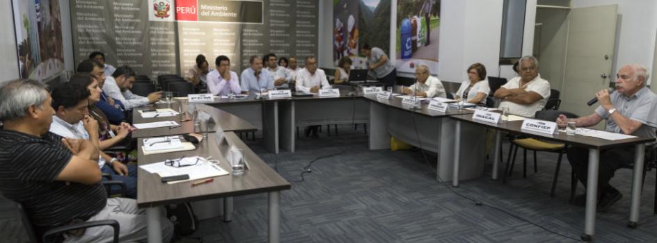 I Sesión Extraordinaria en el año 2016 de la Comisión Multisectorial de Asesoramiento (CMA) aprobó los planes de sus Grupos de Trabajo