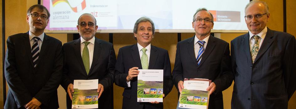 La OCDE y la CEPAL presentaron el Informe de Desempeño Ambiental del Perú