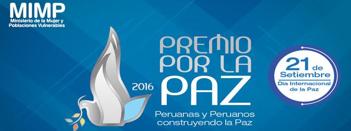Premio por la paz 2016