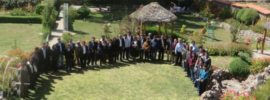 Puno planifica la implementación de acciones para la adaptación al cambio climático en el marco de la declaración de Esteves entre Peru-Bolivia