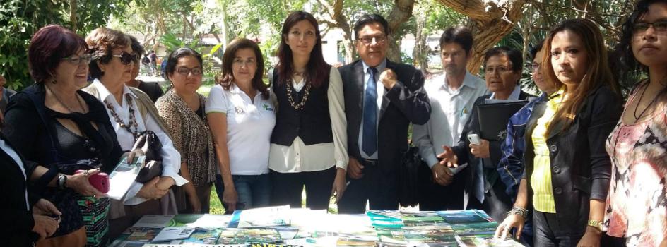 Biblioteca del MINAM promueve la cultura ambiental fortaleciendo capacidades de bibliotecarios y colecciones de bibliotecas de Trujillo