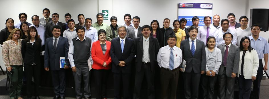 Ministro del Ambiente inaugura diplomado sobre Gestión del Riesgo por cambio climático en Proyectos de Inversión Pública