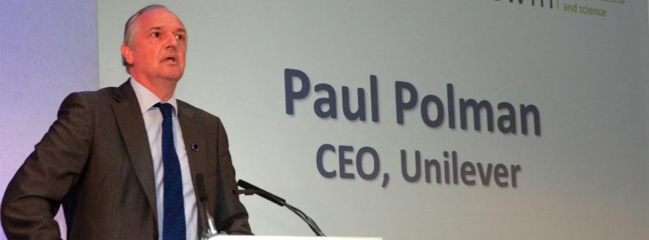 Paul Polman, CEO global de Unilever, visitará Perú para dialogar sobre el nuevo escenario de desarrollo y el rol del sector privado para la sostenibilidad