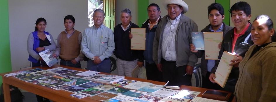 MINAM prioriza la asistencia técnica y fortalecimiento de biblioteca de Cotabambas