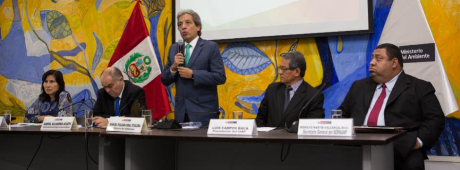 Ministerio del Ambiente presenta la tercera edición del Premio Nacional Ambiental e inicia la convocatoria de postulaciones a nivel nacional