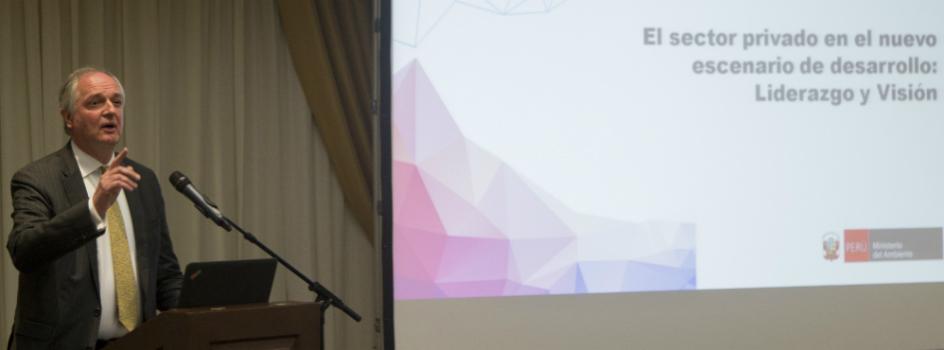 El sector privado peruano se compromete a liderar el nuevo enfoque de desarrollo del país