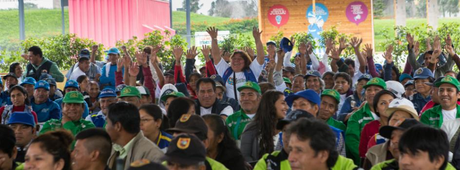 MINAM celebró el Día Nacional del Reciclador en el Parque Voces por el Clima