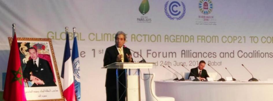 Ministro del Ambiente participa en Foro Global de Alianzas y Coaliciones convocando al dinamismo e integración de la agenda de acción climática