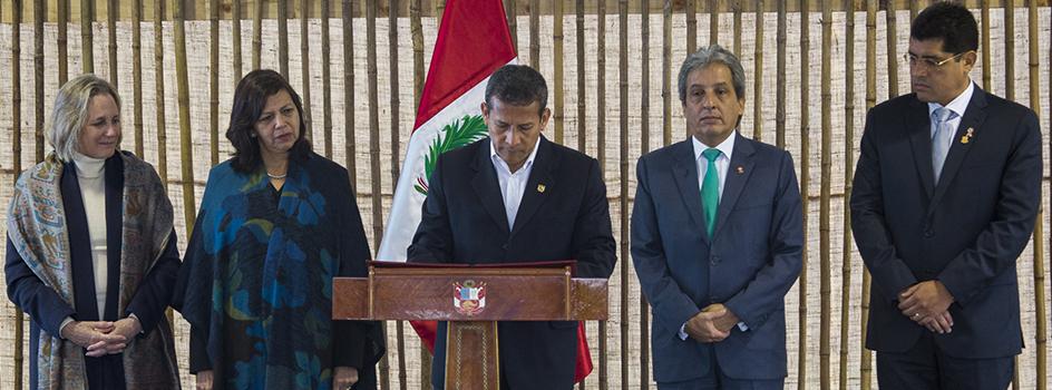 Perú ratifica el Acuerdo de París y consolida su liderazgo climático mundial