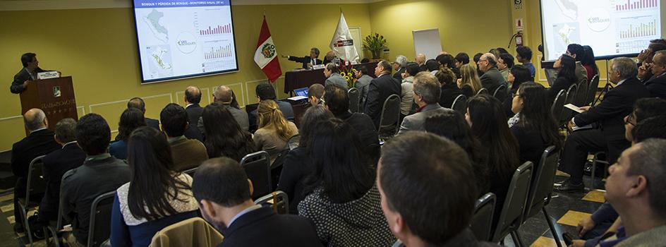 GEO BOSQUES: la nueva e innovadora plataforma de monitoreo de los cambios sobre la cobertura de los bosques del Perú