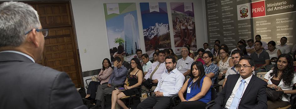 MINAM, UNAS y GORE Huánuco realizarán el curso de valoración económica del patrimonio natural en la ciudad de Tingo María