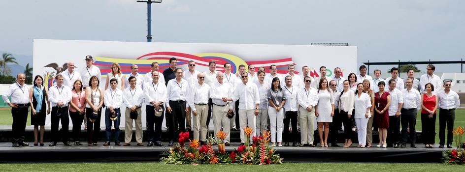 Décimo Gabinete Binacional de Ministros de Perú y Ecuador en Macas