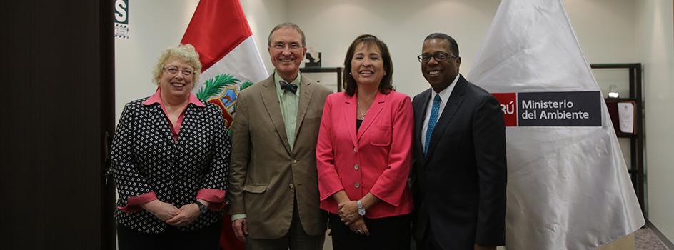 Ministra Galarza se reunió con funcionarios del Departamento de Estado de los EEUU para tratar temas de protección al Ambiente