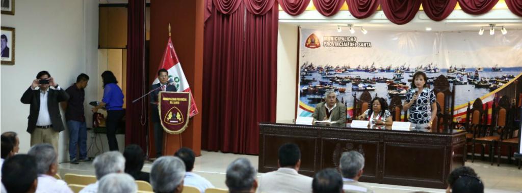 Ministra del Ambiente participa en audiencia pública en Chimbote